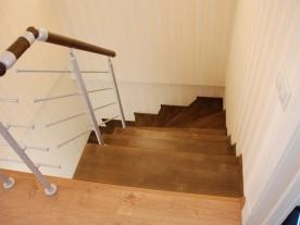 П-образная зашитая лестница