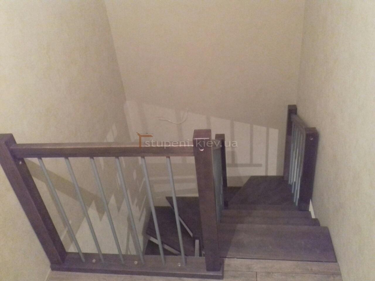 Деревянная лестница на второй этаж своими руками: как