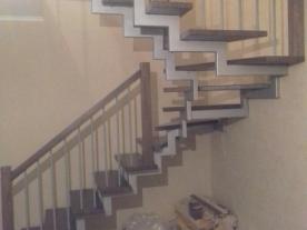 П образная лестница вид сбоку