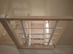 Балюстрада лестницы бук