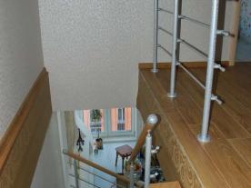 Лестница вид сверху