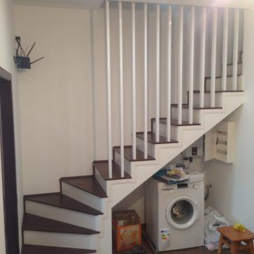 отделка бетонных лестниц фото