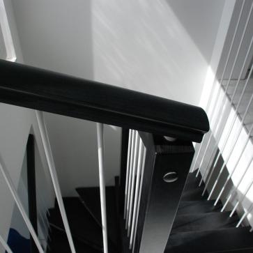 оригинальное ограждение лестницы
