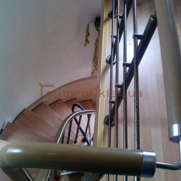 фото модульная лестница вид сверху