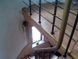 Балюстрада вид с лестницы