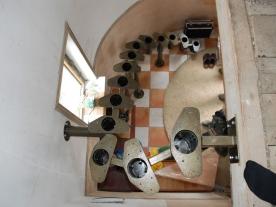 Модульная конструкция лестницы вид сверху