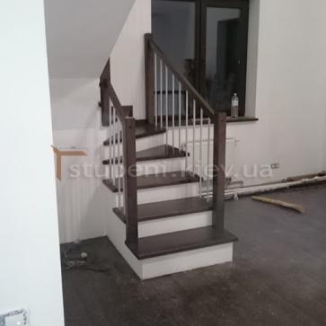 Нижний маленький марш лестницы