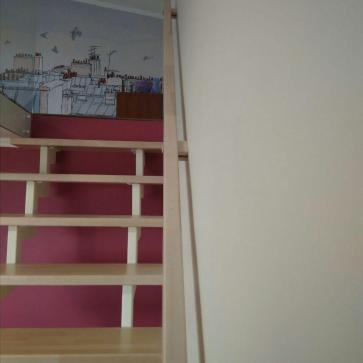 открытая легкая лестница