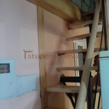 Модульная лестница гусиный шаг