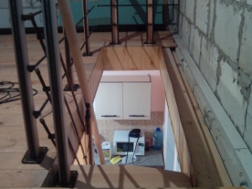 баллюстрада лестницы гусиный шаг