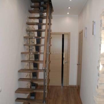 """Прямая лестница """"Гусиный шаг"""""""