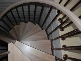 винтовая лестница сборная