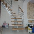 Г образная открытая лестница