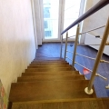Открытая лестница вид сверху