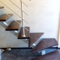Забежная группа однокоурной лестницы