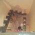 Каркас лестница с одним косоуром