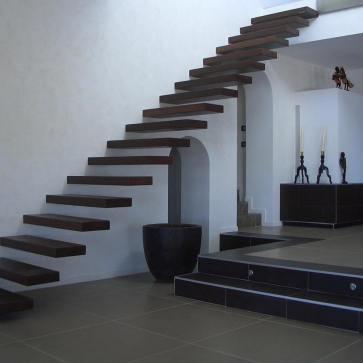 консаольная лестница фото