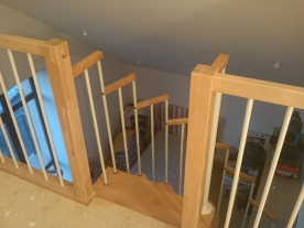 Открытая винтовая лестница