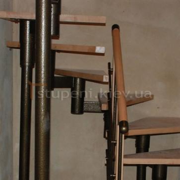 Забежная группа модульной лестницы