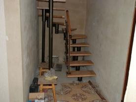 П образная модульная лестница низ