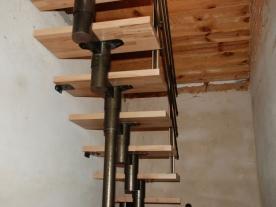 Верхний марш модульной лестницы