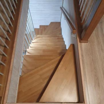 лестница бук на мансарду
