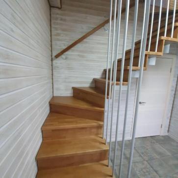 лестница на даче