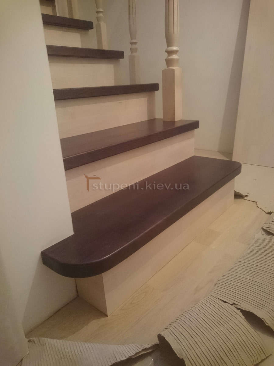Производство деревянных лестниц на Варшавском шоссе
