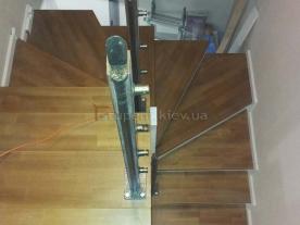 П-образная лестница вид сверху