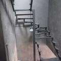 Каркас п-образной лестницы