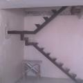 каркас лестницы без столбов