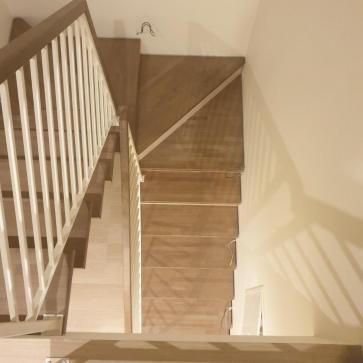 красивая деревянная лестница фото