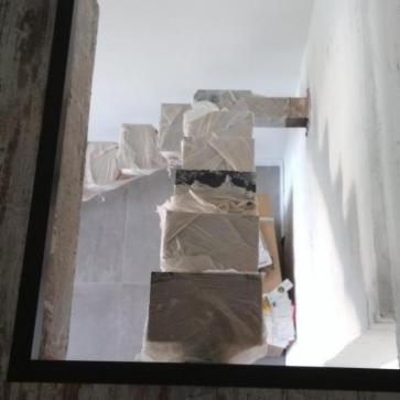 косоур сходів з поворотом фото 2