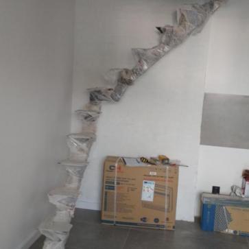 косоур лестницы с поворотом