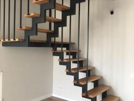 красивые перила для лестниц фото