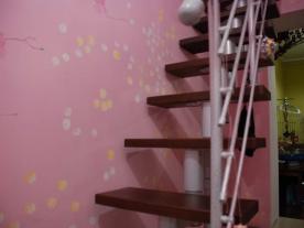Ступени модульной лестницы