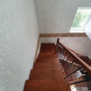 трехмаршевая лестница фото 4