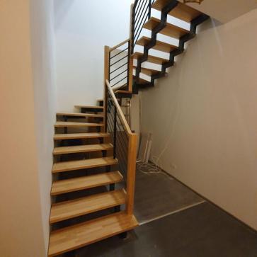 забежная лестница из металла фото 4