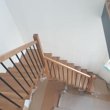 угловая лестница фото 3