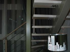 Вид лестницы сбоку