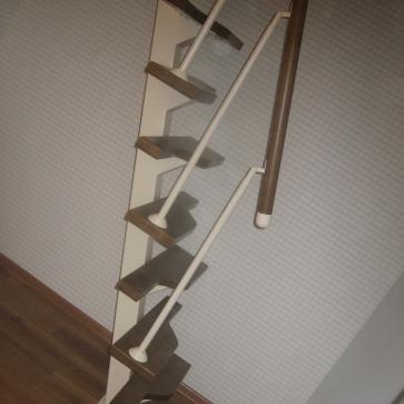 Лестница Гусиный шаг металлический каркас