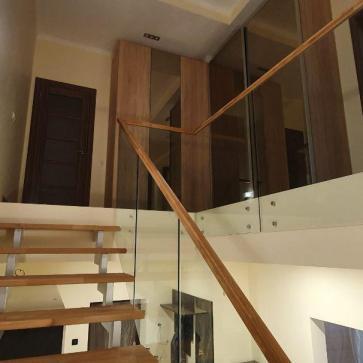 стеклянная лестница в доме фото 5