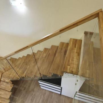 стеклянная лестница в доме фото 7