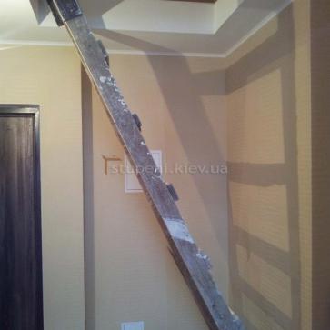 Проем до установки лестницы