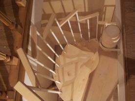 Винтовая лестница проем