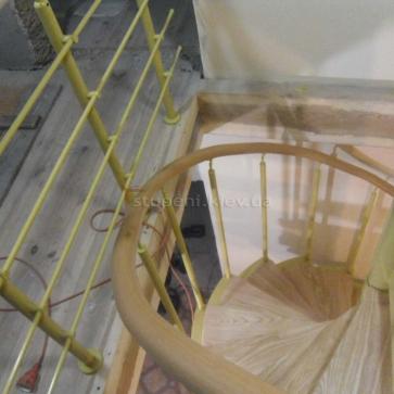 Перило ПВХ винтовая лестница