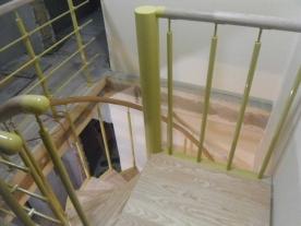 Площадка винтовой лестницы