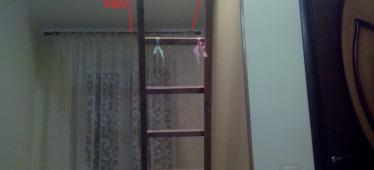 Размеры лестницы на фото
