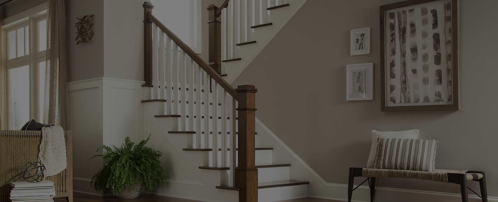 лестница на второй этаж фото горизонтальное