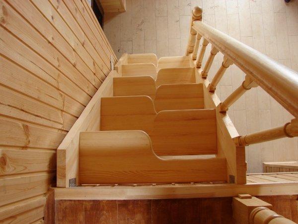 Лестница утиный шаг своими руками фото 945